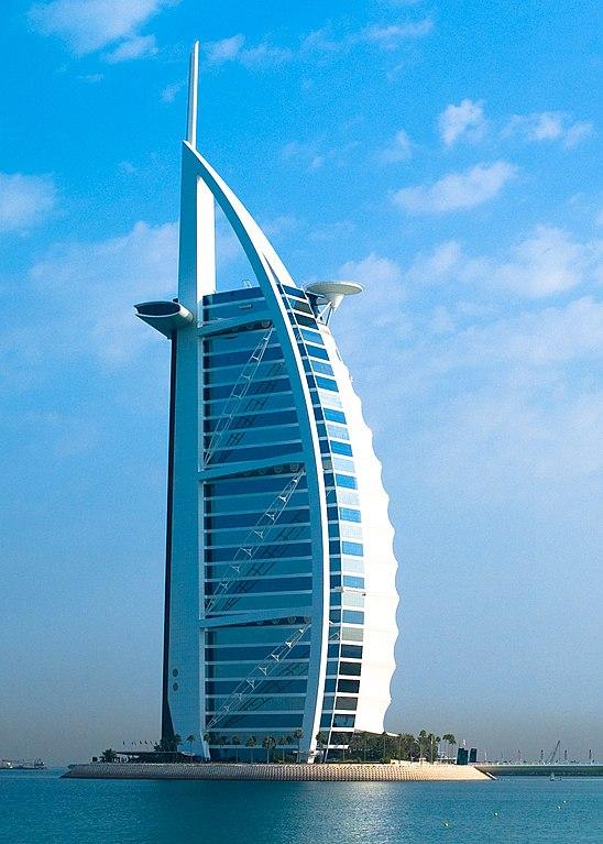 see: Burj Al Arab Hotel