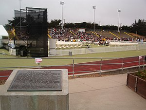 California State University, Monterey Bay - Freeman Stadium filling up for CSUMB's 2006–2007 Graduation Ceremony.