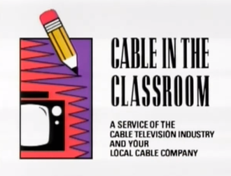 Cable in the Classroom - Cable in the Classroom title card used at the beginning and end of select programs. (see list)