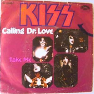 Calling Dr. Love - Image: Calling Dr. Love KISS 1979