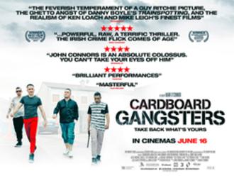 Cardboard Gangsters - Irish release poster