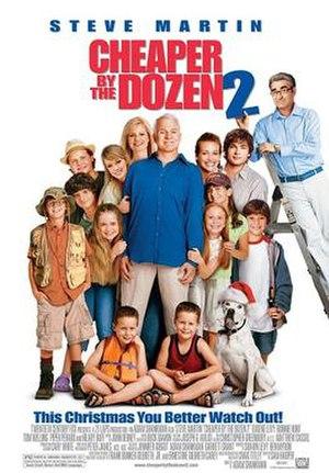 Cheaper by the Dozen 2 - Theatrical release poster
