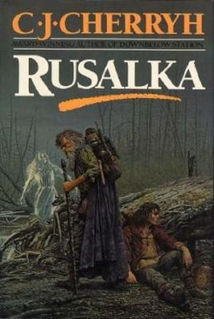 Rusalka (book) - Del Rey hardcover first edition, 1989