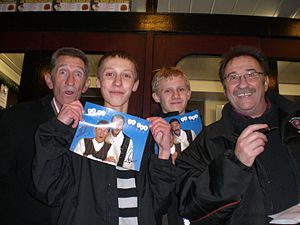 Me, My friend and The Chuckle Brothers