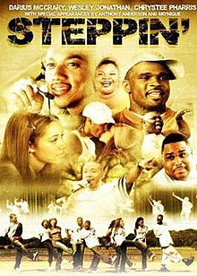 Cover of Steppin- The Movie.jpg