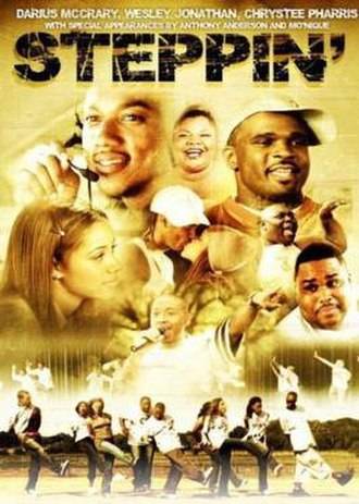 Steppin: The Movie - Image: Cover of Steppin The Movie