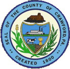 Crawford County, Pennsylvania - Image: Crawford County PA seal