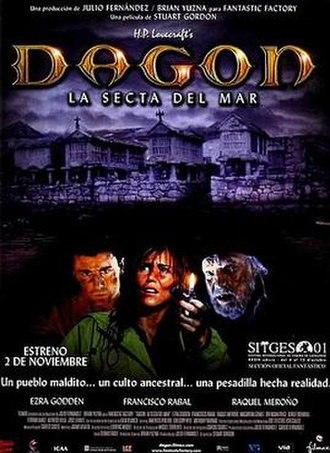 Dagon (film) - Spanish theatrical release poster