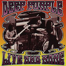 Live and Rare CD cover