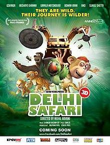 delhi safari wikipedia