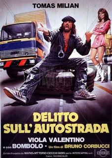<i>Delitto sullautostrada</i> 1982 film by Bruno Corbucci