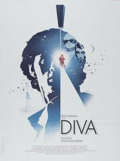 <i>Diva</i> (1981 film) 1981 French thriller film by Jean-Jacques Beineix