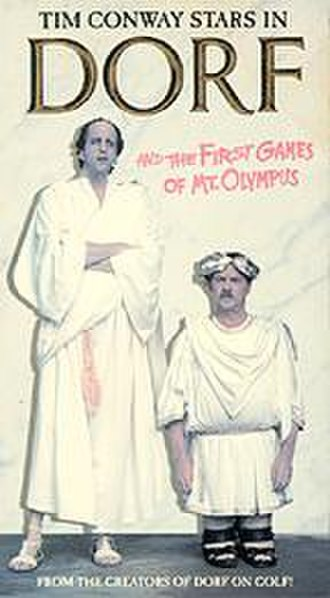 Dorf and the First Games of Mount Olympus - Videocassette cover