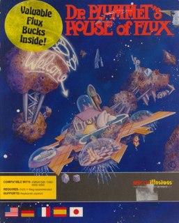 <i>Dr. Plummets House of Flux</i> 1989 video game