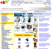 eBay is one of the most widely known online auction websites