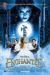 <i>Enchanted</i> (film) 2007 film directed by Kevin Lima
