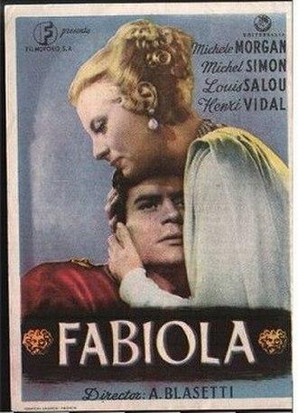 Fabiola (1949 film) - Theatrical release poster