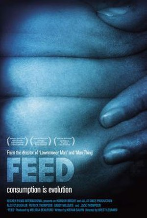 Feed (2005 film) - Theatrical release poster