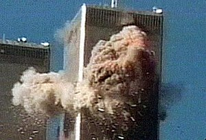 9/11 (2002 film) - Jules Naudet captured American Airlines Flight 11 striking the North Tower.