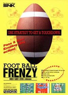 <i>Football Frenzy</i> video game