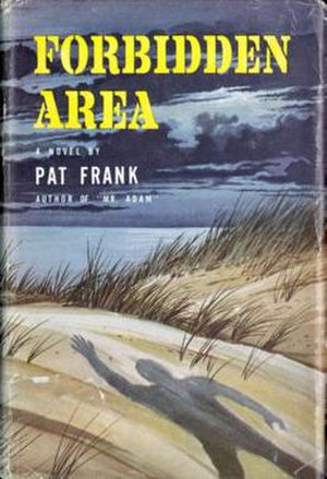 Forbidden Area - First edition (publ. J. B. Lippincott Company) Cover art by Ed Valigursky