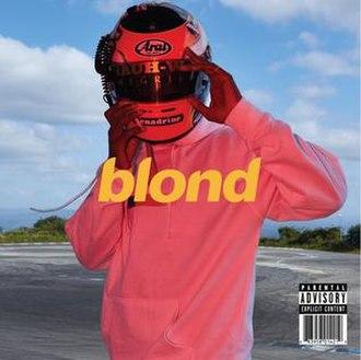 Blonde (Frank Ocean album) - Image: Frank Ocean Blonde 2