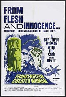 <i>Frankenstein Created Woman</i> 1967 film by Terence Fisher