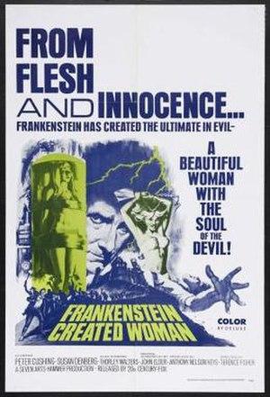 Frankenstein Created Woman - Image: Frankcreatedwoman
