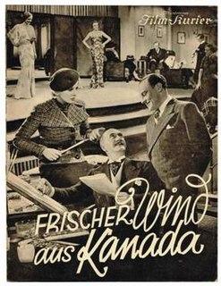 <i>Fresh Wind from Canada</i> 1935 film