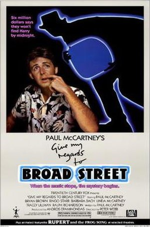 Give My Regards to Broad Street (film) - Image: Give My Regards to Broad Street (poster)