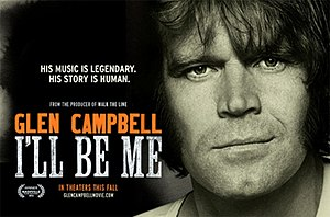 Glen Campbell: I'll Be Me - Promotional poster