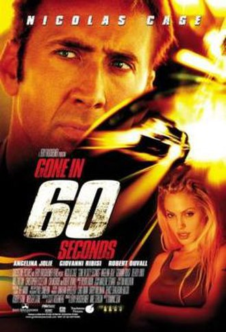 Gone in 60 Seconds (2000 film) - Theatrical release poster