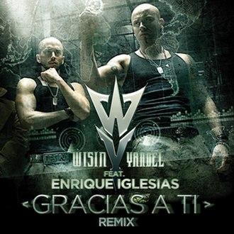 Gracias a Ti - Image: Gracias a Ti Official cover