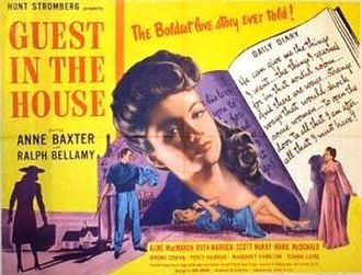 Guest in the House - Theatrical release poster