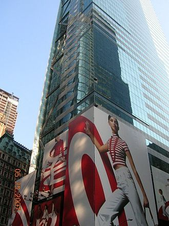 Heller Ehrman - 7 Times Square Tower, home of Heller Ehrman's New York City office