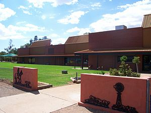 Hillston Central School - Image: Hillston CS Entrance
