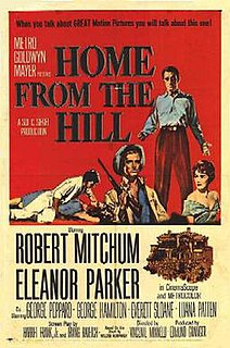 <i>Home from the Hill</i> (film) 1960 film by Vincente Minnelli