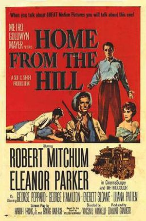 Home from the Hill (film) - Theatrical release poster