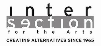 Intersection for the Arts - Image: Intersection logo white