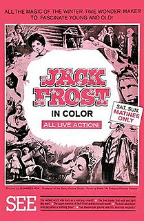 <i>Jack Frost</i> (1964 film) 1964 film by Alexander Rou