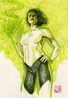 Jade (DC Comics) fictional character, a superheroine in the DC Comics Universe