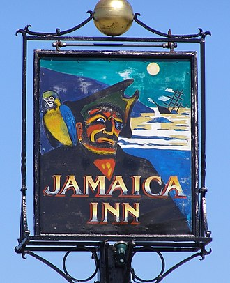 Jamaica Inn - Image: Jamaica Inn Sign