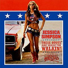 Jessica Simpson — These Boots Are Made for Walkin' (studio acapella)