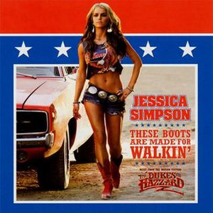 These Boots Are Made for Walkin' - Image: Jessicasimpson single thesebootsaremadefor walking