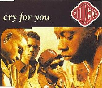Cry for You (Jodeci song) - Image: Jodeci Cryfor You Single