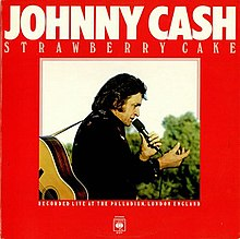 Johnny Cash Eating Strawberry Cake