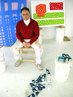 Jonathan Lasker American artist