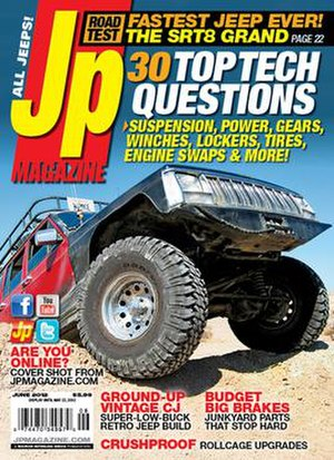 Jp (magazine) - The June 2012 issue of Jp.