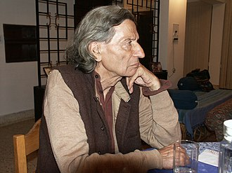 2003 in poetry - Indian poet Keshav Malik, also a writer and arts curator, in a photograph taken this year