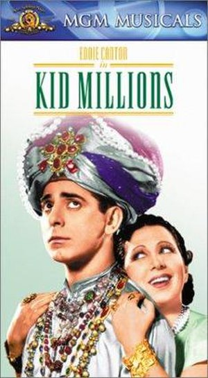 Kid Millions - VHS cover